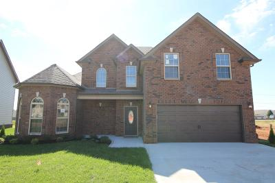 Clarksville Single Family Home Under Contract - Showing: 8 Summerfield