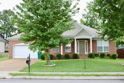 Spring Hill Single Family Home For Sale: 2979 Burtonwood Dr
