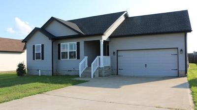 Clarksville Single Family Home For Sale: 584 Tracy Lane