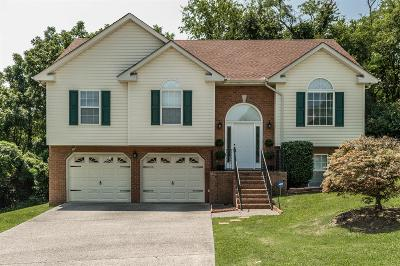 Hendersonville Single Family Home Under Contract - Showing: 102 Trace Ct