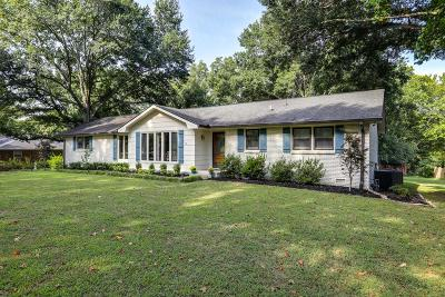 Brentwood Single Family Home Under Contract - Showing: 719 Davis Dr