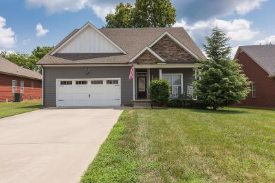 Christian County, Ky, Todd County, Ky, Montgomery County Single Family Home For Sale: 2213 Fairfax Dr