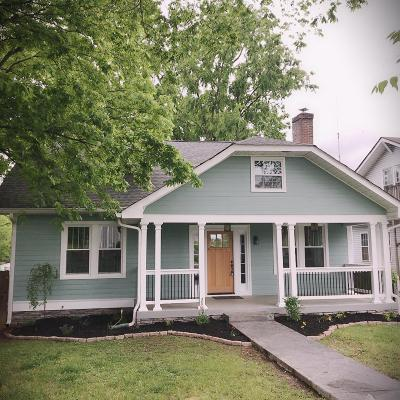 Nashville Single Family Home For Sale: 1038 W Greenwood Ave