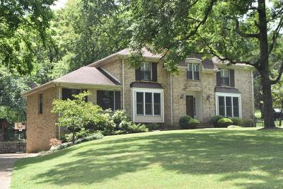 Brentwood Single Family Home For Sale: 5704 Cloverwood Dr