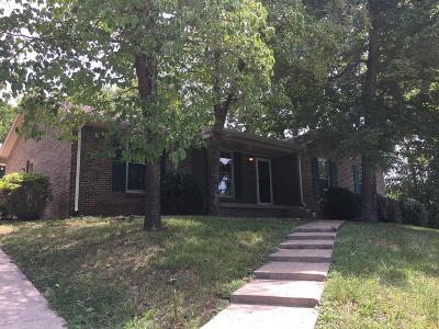Clarksville Single Family Home Under Contract - Showing: 408 Warren Cir