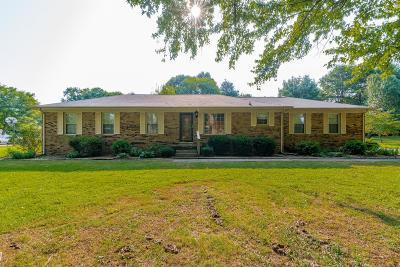 Gallatin Single Family Home Under Contract - Showing: 551 Hollerman Ln
