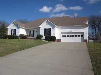 Clarksville Single Family Home For Sale: 1158 Thornberry Dr