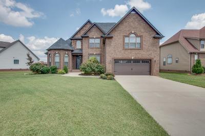 Clarksville Single Family Home For Sale: 2221 Ellington Gait Dr