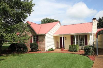 Smyrna, Lascassas Single Family Home Under Contract - Showing: 201 Edgewood Dr