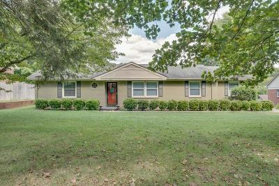 Columbia Single Family Home For Sale: 2807 Gray Cir