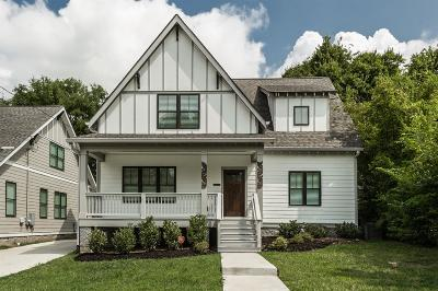 East Nashville Single Family Home For Sale: 317 B Edwin