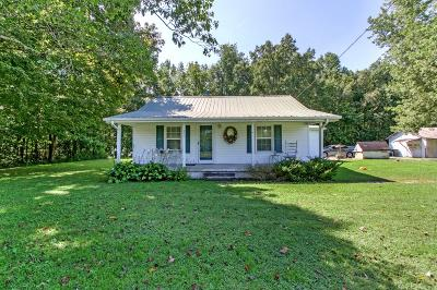 Bradyville Single Family Home For Sale: 471 Smith Rd