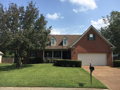 Wilson County Single Family Home For Sale: 4804 Kensington Dr