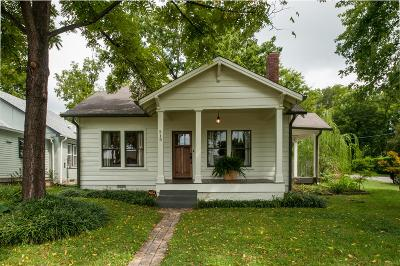 East Nashville Single Family Home Under Contract - Showing: 215 Fall St