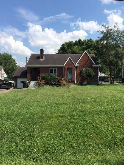 Nashville Single Family Home Under Contract - Showing: 1804 Hailey Ave