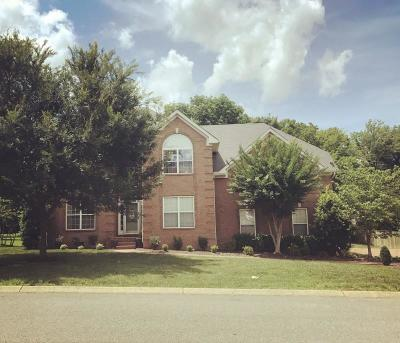 Hendersonville Single Family Home For Sale: 109 Crooked Creek Ln