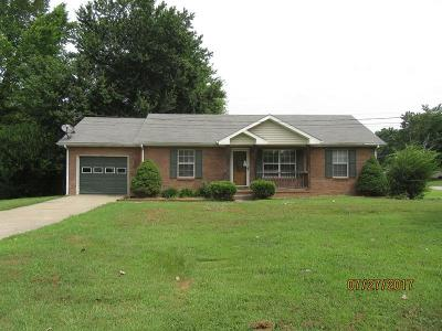 Clarksville Single Family Home Under Contract - Showing: 801 Nick Dr