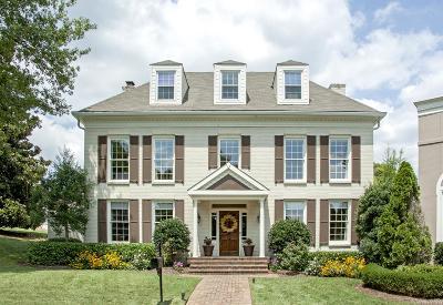 Nashville Single Family Home For Sale: 162 Charleston Park