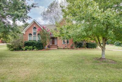 Hendersonville Single Family Home For Sale: 118 Crosspointe