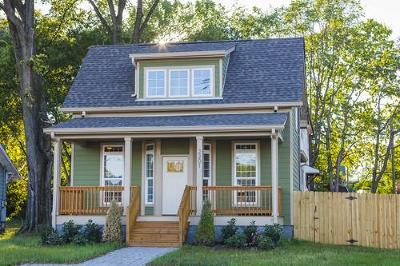 Nashville Single Family Home For Sale: 349 Queen Ave