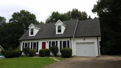 Clarksville TN Single Family Home For Sale: $167,000