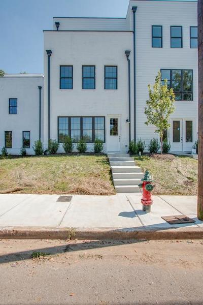 East Nashville Single Family Home Under Contract - Showing: 1227 N 5th St