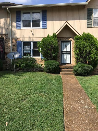 Nashville Condo/Townhouse For Sale: 4000 Anderson Rd Apt 50