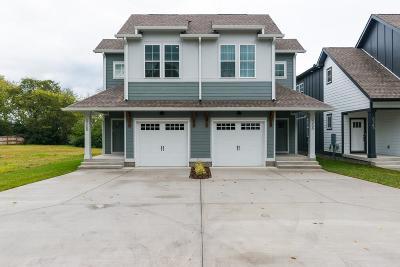 Nashville Single Family Home For Sale: 636 A Vernon Ave