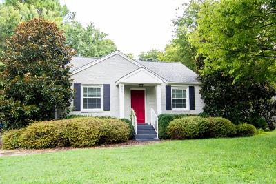 Green Hills Single Family Home For Sale: 955 Graybar Ln