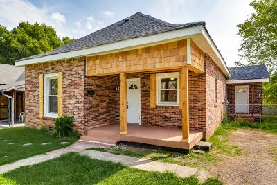 Nashville Single Family Home For Sale: 1820 15th Ave N