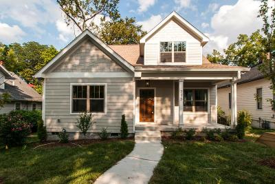 East Nashville Single Family Home Under Contract - Showing: 715 S 12th St