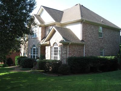 Franklin Single Family Home For Sale: 1727 Forrest Crossing Cir