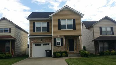 Clarksville TN Single Family Home For Sale: $125,500