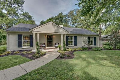 Green Hills Single Family Home For Sale: 4315 Estes Road
