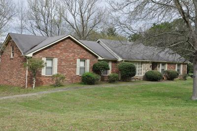 Franklin Single Family Home For Sale: 2509 Hillsboro Rd