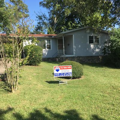 Hendersonville TN Single Family Home For Sale: $195,000