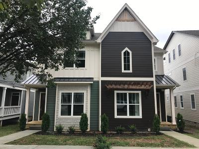 Nashville Single Family Home For Sale: 409 A Theresa Ave