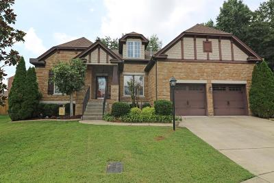 Mount Juliet Single Family Home Under Contract - Showing: 7408 Thornwood Ct