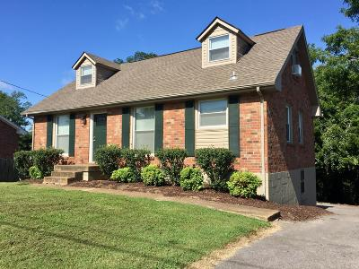 Old Hickory Single Family Home For Sale: 4840 Whittier Dr