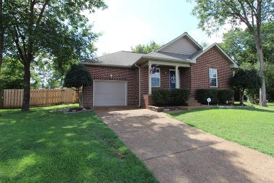 Wilson County Single Family Home For Sale: 1358 Piercy Ct