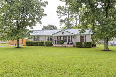 Shelbyville Single Family Home For Sale: 1056 Unionville Deason Rd