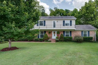 Williamson County Single Family Home Under Contract - Showing: 106 Victoria Ct