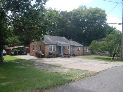 Nashville Single Family Home For Sale: 1008 Virginia Ave
