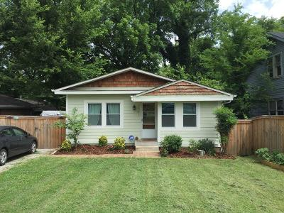 Nashville Single Family Home Under Contract - Showing: 1041 Petway Ave