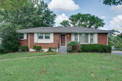 Nashville Single Family Home For Sale: 4880 Jonquil Dr