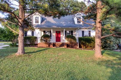 Spring Hill Single Family Home For Sale: 2923 Sams Ct