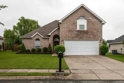 Spring Hill Single Family Home Under Contract - Showing: 1712 Stephenson Ln