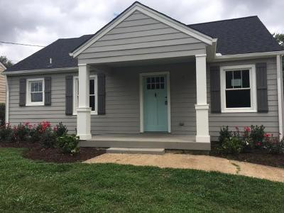 Nashville Single Family Home For Sale: 929 Granada Ave