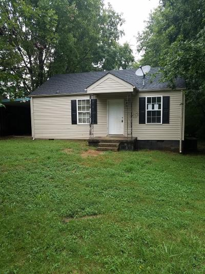 Clarksville Single Family Home For Sale: 1225 Greenfield Dr