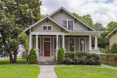 Nashville Single Family Home Under Contract - Showing: 308 Scott Ave